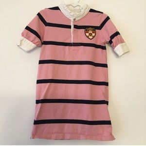 5/$25 Ralph Lauren girls striped shift dress 5